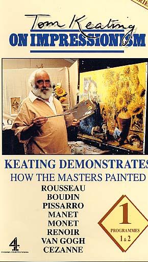 Keating, Tom: TK01 - Rousseau, Boudin, Pissaro, Manet