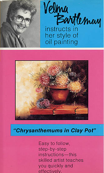 Bartlemay, Velma: VB01 - Chrysanthemums in Clay Pot