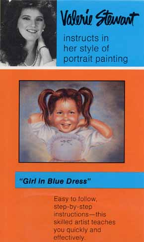 Stewart, Valerie: VS03 - Girl in Blue Dress