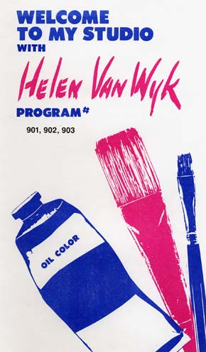 Van Wyk, Helen: VW901 - Series Nine - Palette of 13 Colors Pt.1