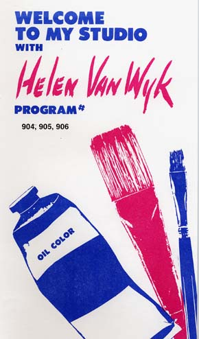 Van Wyk, Helen: VW904 - Series Nine - Palette of 13 Colors Pt.2