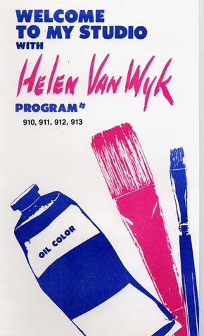 Van Wyk, Helen: VW910 - Series Nine - Palette of 13 Colors Pt.4