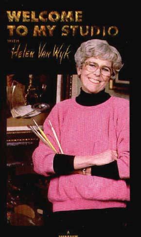 Van Wyk, Helen: VWS800 - Painting Flowers