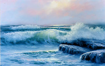 Blackman, William: WB400 - Misty Seascape