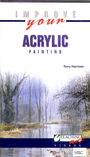 Harrison, Terry: TH09 - Improve your Acrylic Painting