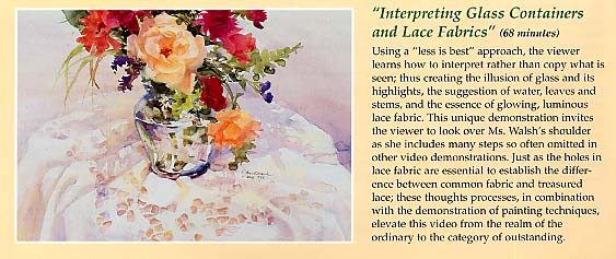 Walsh, Janet: WSH3 - Interpreting Glass Containers & Lace